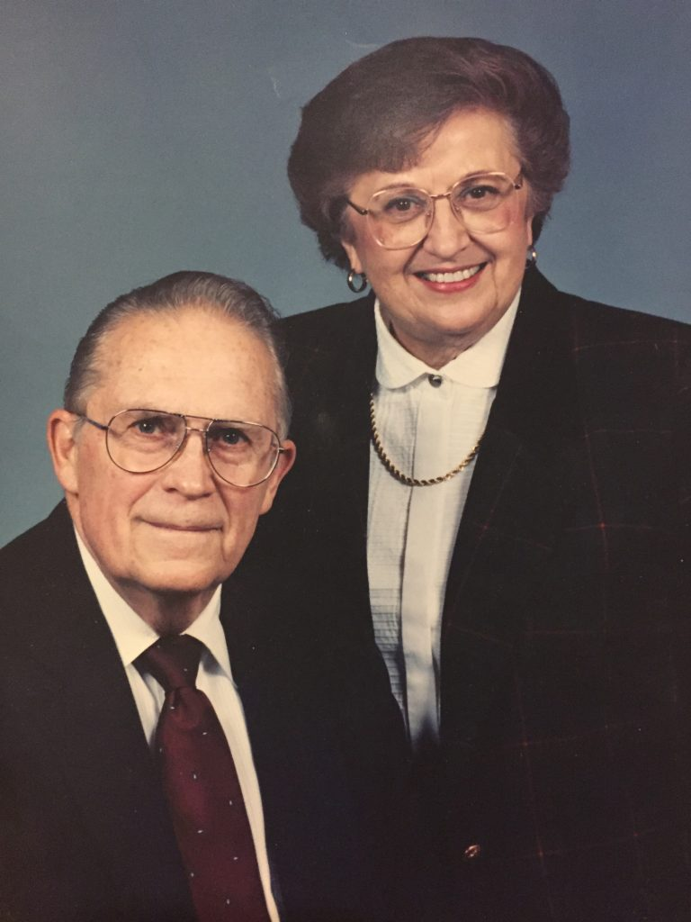 George R. Thacker, second direction of PGS, and his wife, Mary